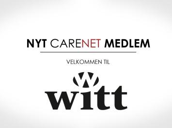 Witt A/S er nyt medlem af CareNet
