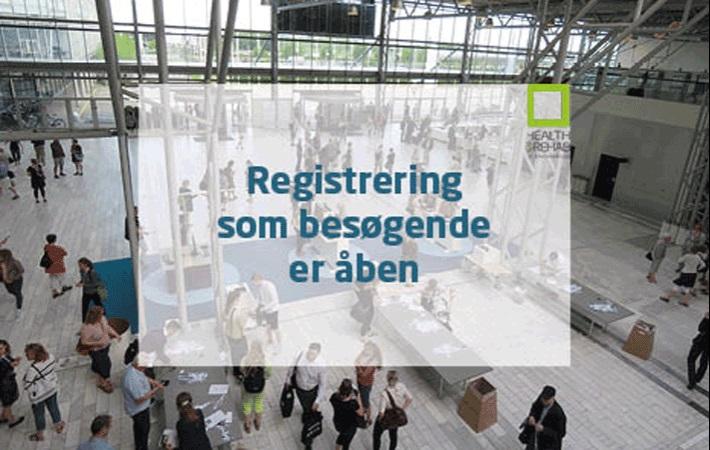 Registrering som besøgende til Health & Rehab Scandinavia er åben!
