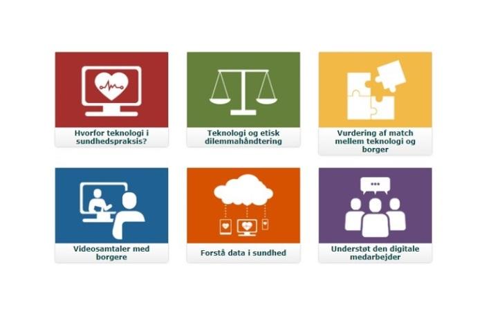Online læringsforløb støtter sundhedsfagliges digitale kompetencer
