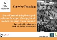 Deltag i CareNet-Temadag på Health & Rehab Scandinavia