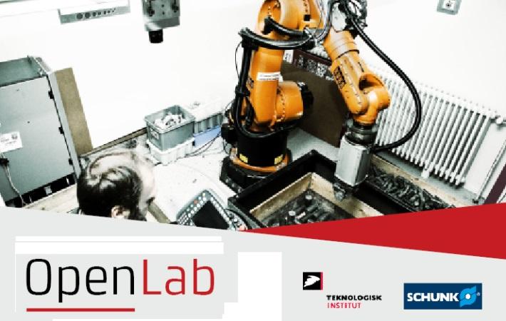 Open Lab med Schunk og Teknologisk Institut