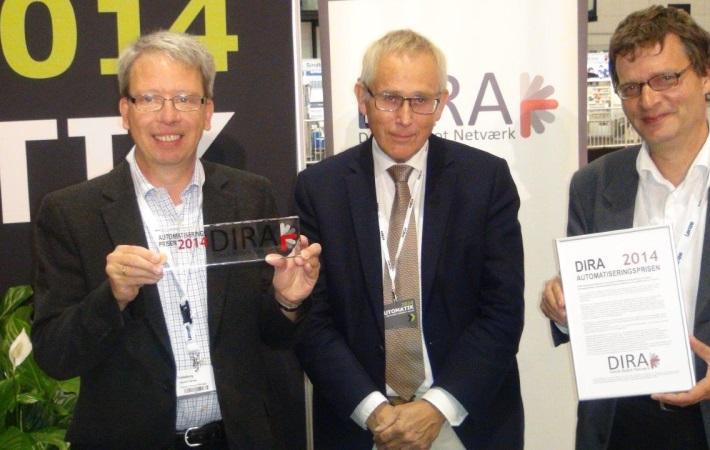 DIRA Automatiseringsprisen 2014 går til Trelleborg Sealing Solutions