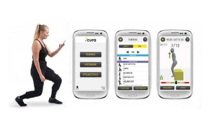 Erfaringer og muligheder i mobil interaktiv genoptræning med ICURA