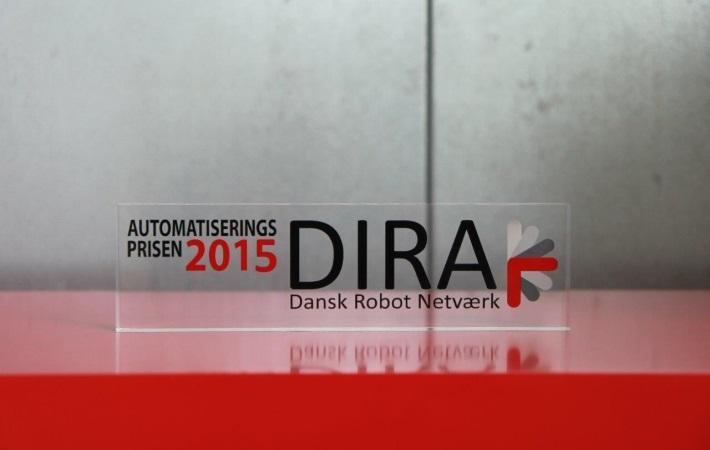 Overrækkelse af DIRA Automatiseringsprisen