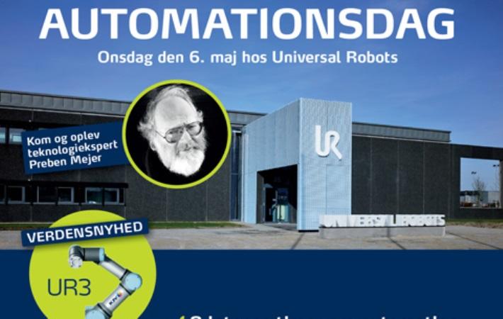 EKSTERN - KJVs Automationsdag hos UR