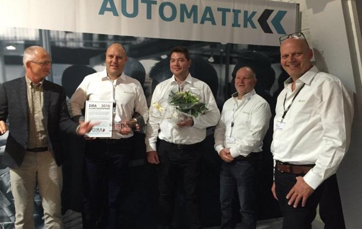 DIRA Automatiseringsprisen 2016 går til Welltec!