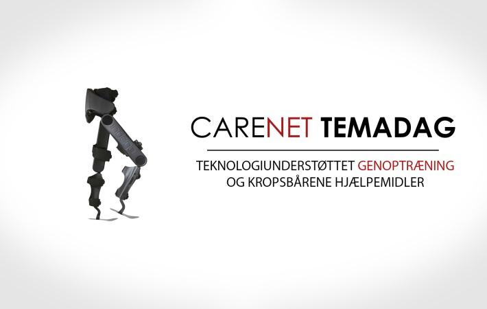 CareNet-Temadag: Teknologiunderstøttet genoptræning og kropsbårene hjælpemidler