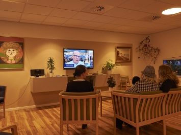 Plejehjemmet Rosenvang har stor effekt af Døgnrytmelys