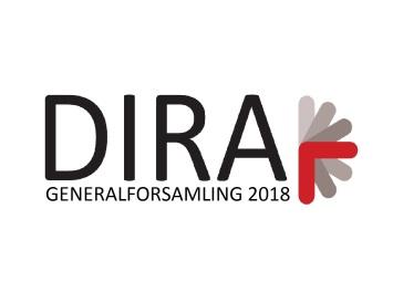 Indkaldelse til DIRAs generalforsamling 2018