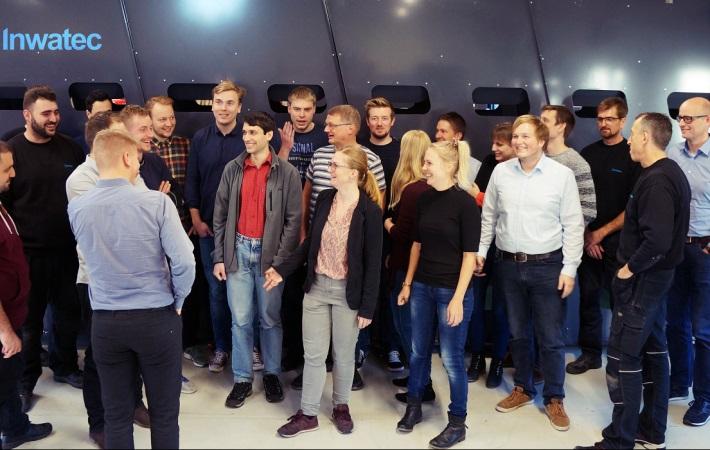 Besøg ved Inwatec - nomineret til DIRA Automatiseringsprisen 2018