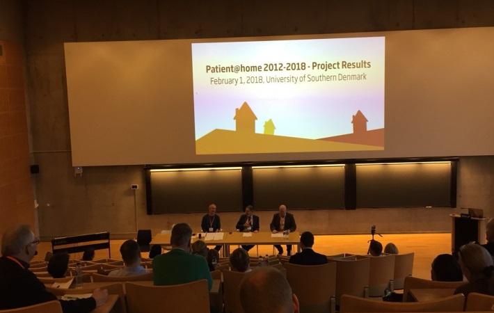 Fik du læst om Danmarks hidtil største velfærdsteknologiske forsknings- og innovationsprojekt, Patient@home?