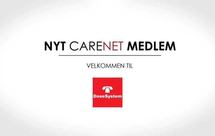 DoseSystem er nyt medlem af CareNet