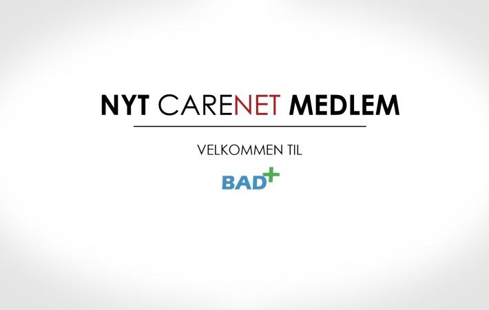 BAD+ er nyt medlem af CareNet