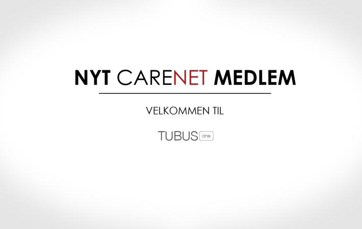 TubusOne er nyt medlem af CareNet