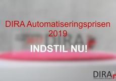 DIRA Automatiseringsprisen 2019: Indstil kandidater nu