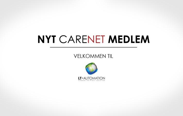 LT Automation er nyt medlem af CareNet