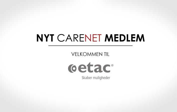 Etac er nyt medlem af CareNet