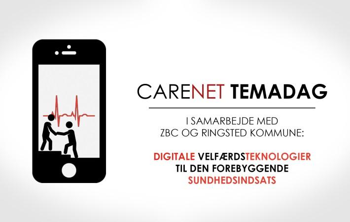 CareNet-Temadag: Digitale Velfærdsteknologier til den Forebyggende Sundhedsindsats