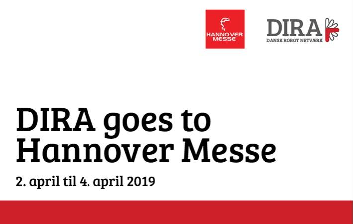 Tag på udbytterig forretningstur til Hannover Messe 2019 med DIRA