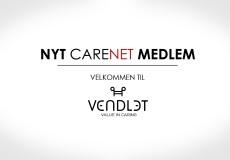 Vendlet er nyt medlem af CareNet