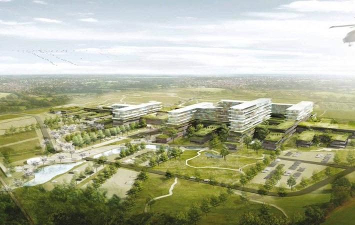 Førerløse AGV'er skal hjælpe med den interne logistik på nyt supersygehus i Gødstrup