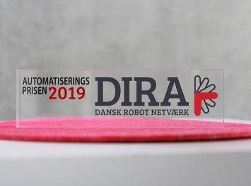 De nominerede til DIRA Automatiseringsprisen 2019 er fundet