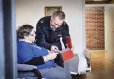 Intelligent medicinhusker skaber tryghed i Helsingør Kommune