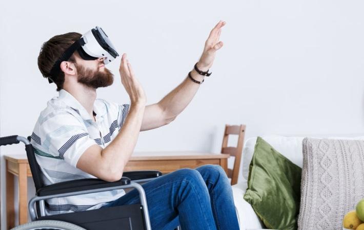 VR får voksne udviklingshæmmede til at falde til ro