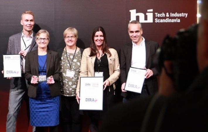 Den Intelligente Forsendelseskasse vinder DIRA Automatiseringsprisen 2019