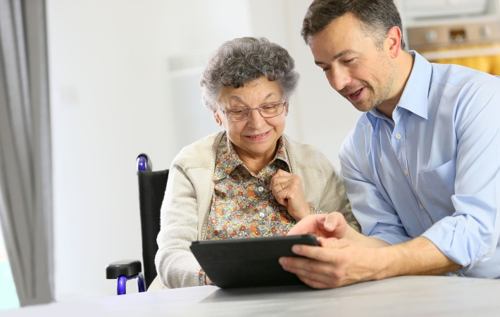 Borgere kan træne hjemme med Viewcare
