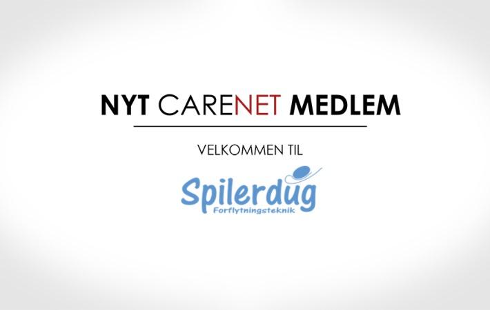 Brehms Spilerdug er nyt medlem af CareNet