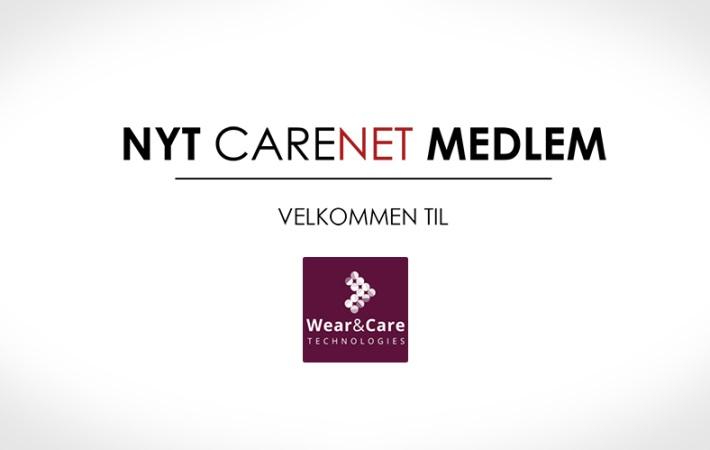 Wear&Care Technologies er nyt medlem af CareNet
