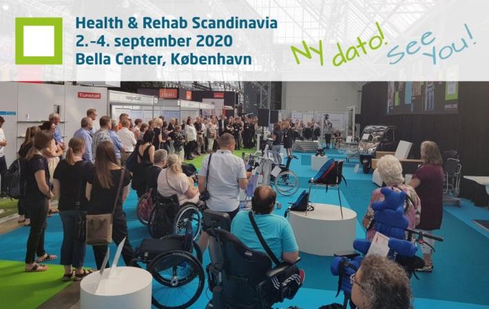 Health & Rehab Scandinavia 2020 flyttes til september