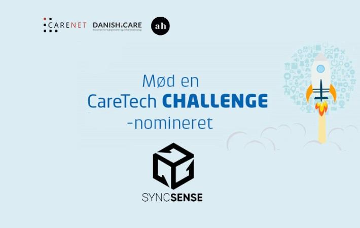 """Mød en """"CareTech CHALLENGE""""-nomineret: SYNCSENSE med """"MoVR"""""""