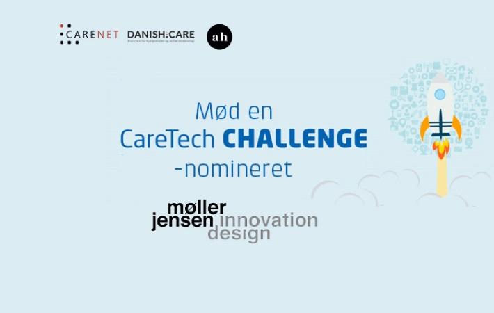 Mød en CareTech CHALLENGE-nomineret: Møller-Jensen Innovation og Design med AQUATIME