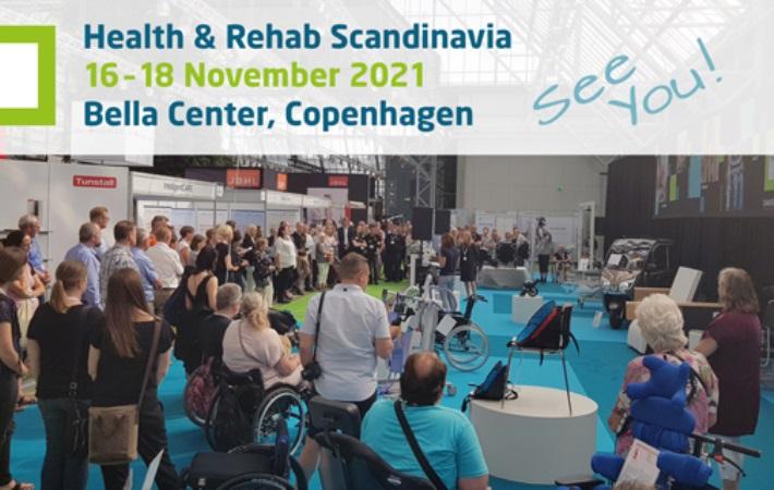 NY DATO: Health & Rehab Scandinavia 2021 udskydes til d. 16.-18. november 2021